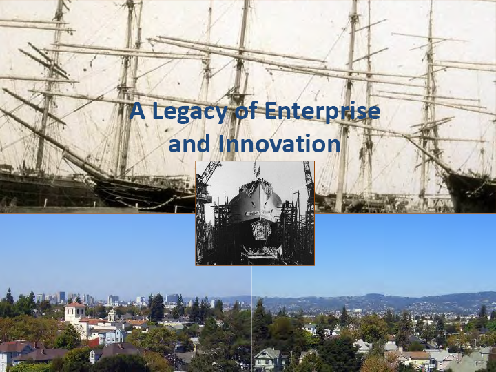 Bay Area historian Woody Minor highlights the rich history of industry in Alameda