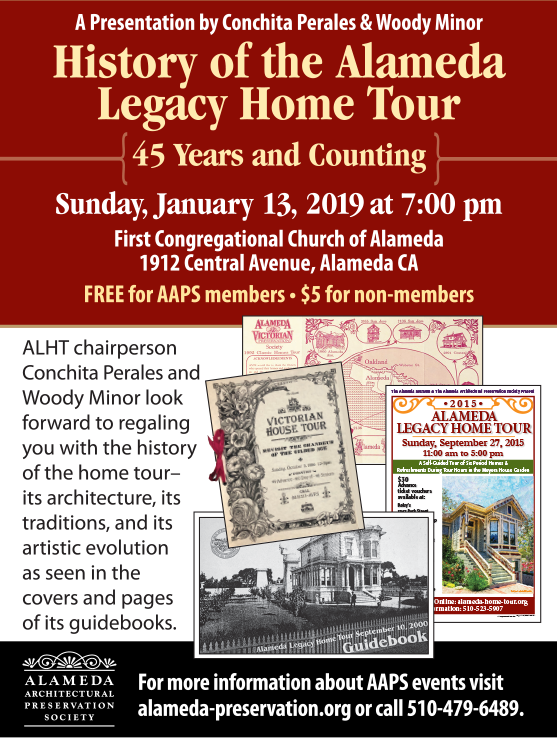 History of the Alameda Legacy Home Tour: 45 Years and Counting