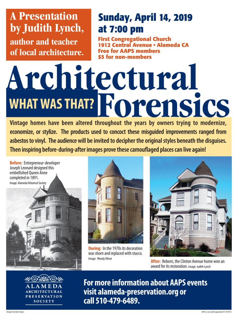 Architectural Forensics: What Was That?