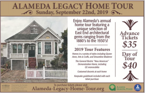 Alameda Legacy Home Tour invites your to explore Alameda's Hidden Gems